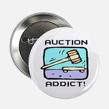 """Auction Addict 2.25"""" Button (10 pack)"""