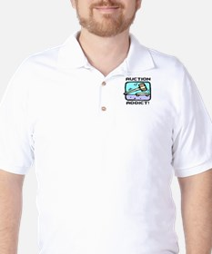 Auction Addict Golf Shirt