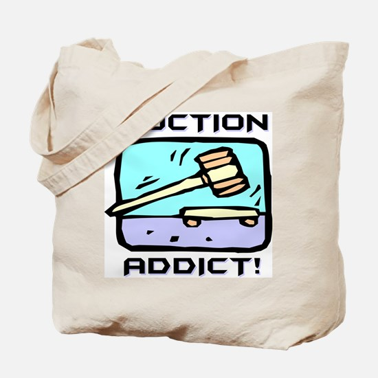Auction Addict Tote Bag
