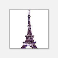 Eiffel Tower Pointillism dots Sticker
