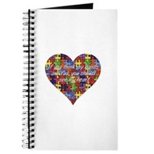 Autism Hands full, See my heart Journal
