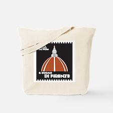 Florence Dome Black Tote Bag