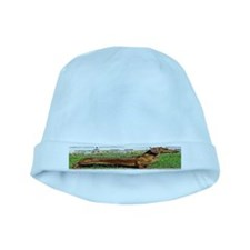 Long Dachshund Baby Hat