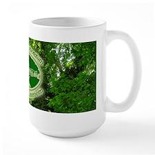 Chesapeake Arboretum Logo on trees