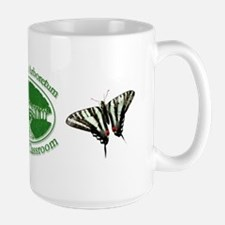 Chesapeake Arboretum Logo & butterflies