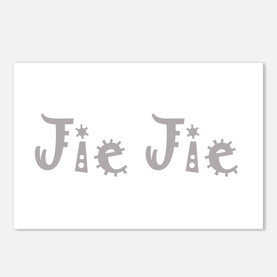 Jie Jie 1 Postcards (Package of 8)