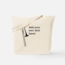 Custom Trombone Tote Bag