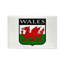 Wales Coat of Arms Rectangle Magnet
