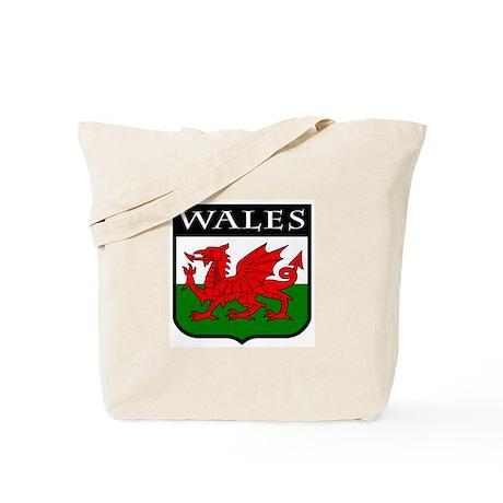 Wales Coat of Arms Tote Bag