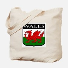 Wales Coat of Arms Tote Bag