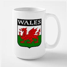 Wales Coat of Arms Large Mug