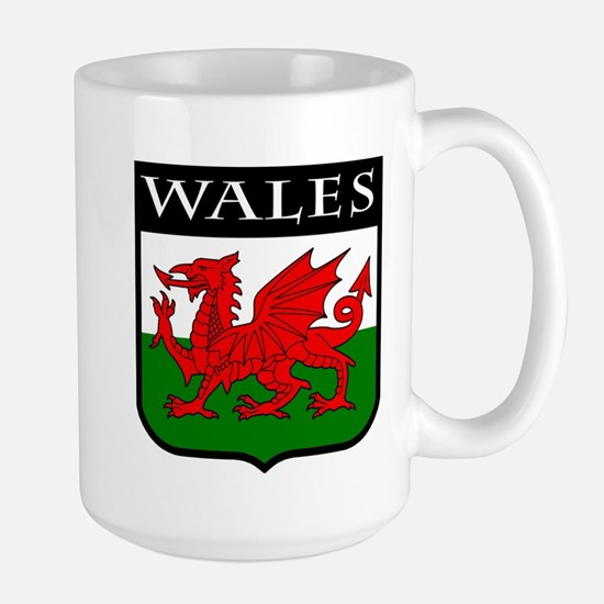 Wales Coat of Arms Large Mug