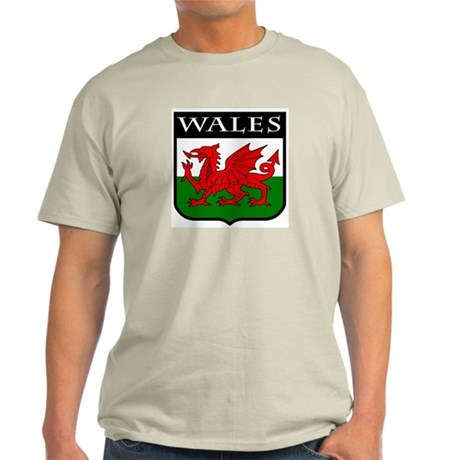 Wales Coat of Arms Light T-Shirt
