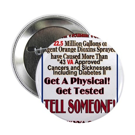 """Agent Orange: The Gift 2.25"""" Button (10 pack)"""