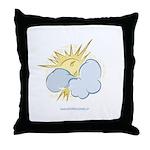 SUN & CLOUDS Throw Pillow