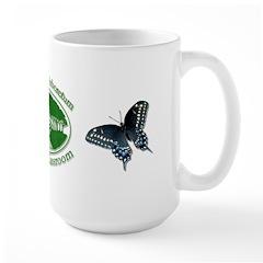 Chesapeake Arboretum Logo black swallowtail