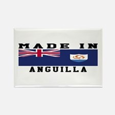 Anguilla Made In Rectangle Magnet