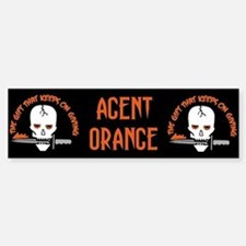 Agent Orange: The Gift Bumper Bumper Bumper Sticker