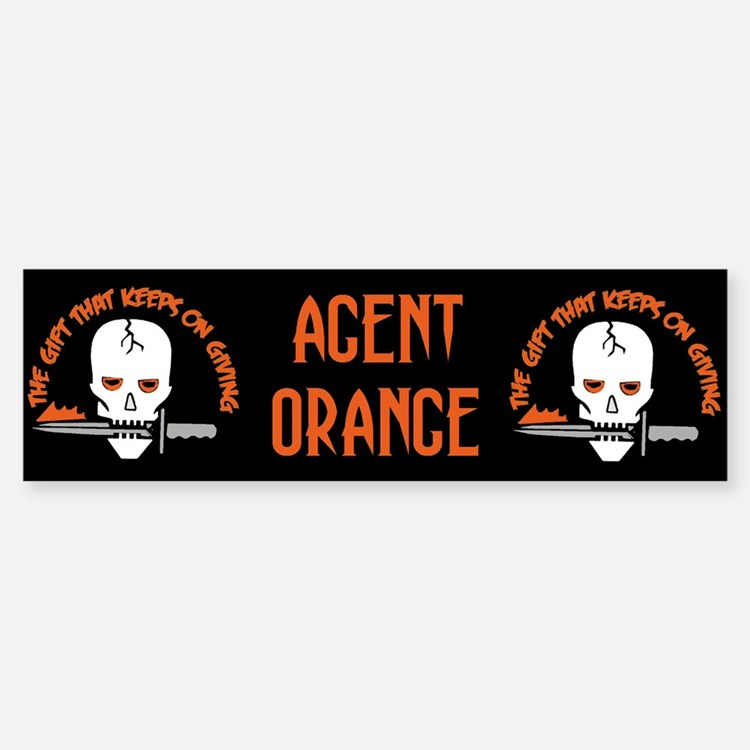 Agent Orange: The Gift Bumper Bumper Bumper Sticker