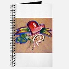 Heart Banner Journal