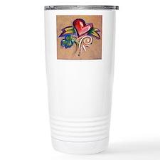 Heart Banner Travel Mug