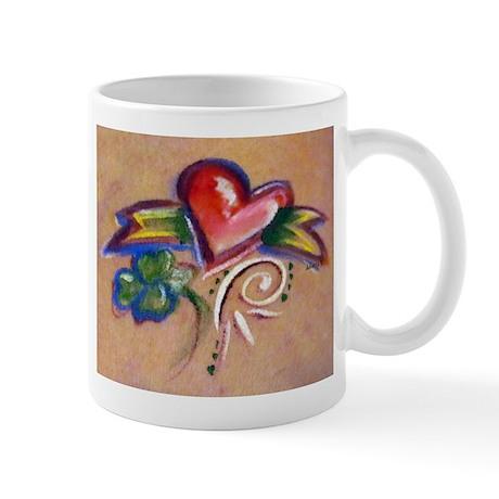 Heart Banner Mug