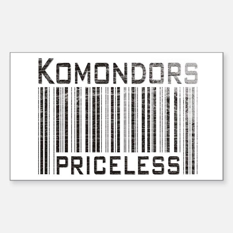 Komondors Rectangle Decal