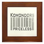 Komondors Framed Tile