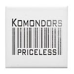 Komondors Tile Coaster