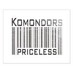 Komondors Small Poster