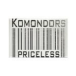 Komondors Rectangle Magnet