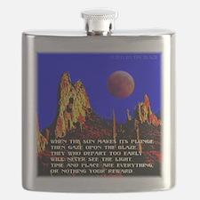 The Blaze Time & Place Flask