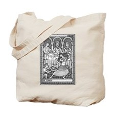 Salome Woodblock Book Bag