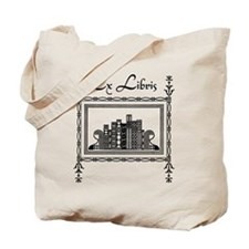 Art Deco Bookshelf Book and Tote Bag