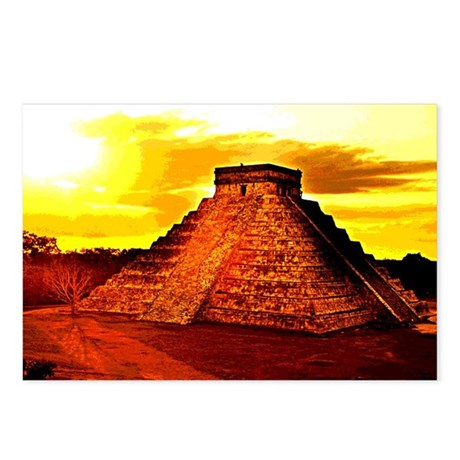 Mayan Temple Postcards (Package of 8)