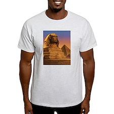 Wisdom of the Sphinx Ash Grey T-Shirt