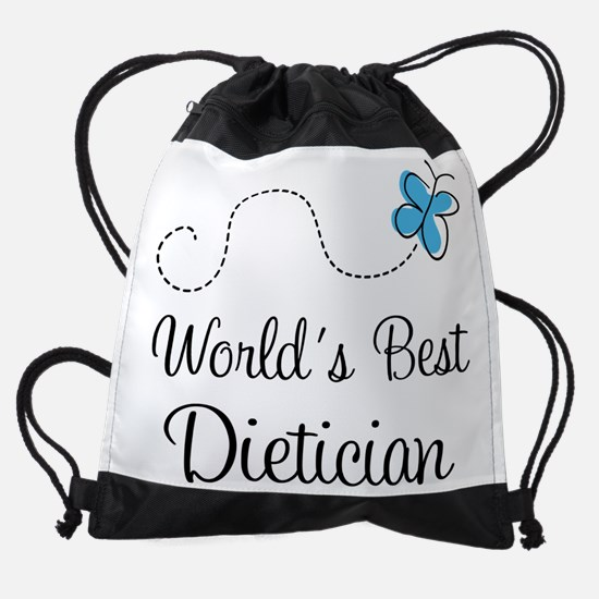 Dietician Worlds Best Drawstring Bag