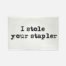 I stole your stapler Rectangle Magnet