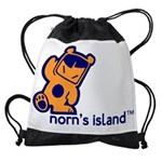norns_island_t.png Drawstring Bag