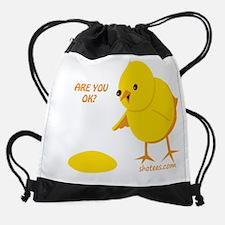 Cute Bacon slogan Drawstring Bag