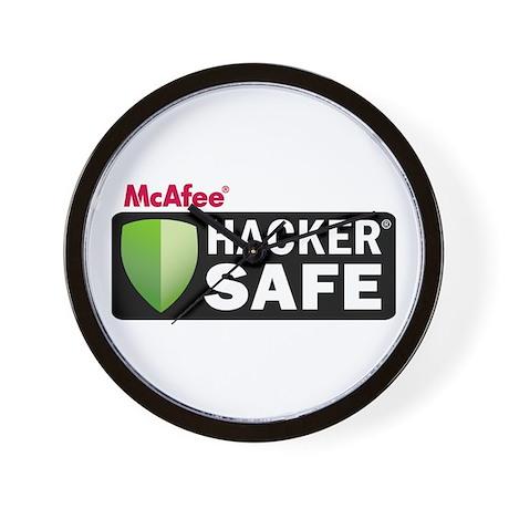 HACKER SAFE Wall Clock