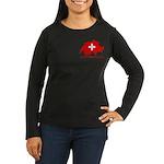 Switzerland-4 Women's Long Sleeve Dark T-Shirt