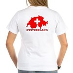 Switzerland-4 Women's V-Neck T-Shirt