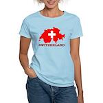 Switzerland-4 Women's Light T-Shirt