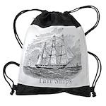 tall shipsCALENDAR copy.png Drawstring Bag