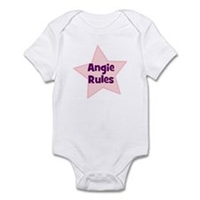 Angie Rules Infant Bodysuit