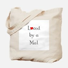 Loved by a Mal Tote Bag
