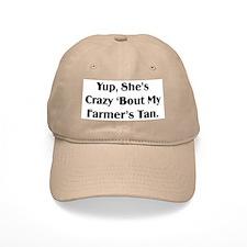 Farmer's Tan Baseball Cap