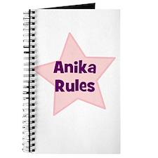 Anika Rules Journal