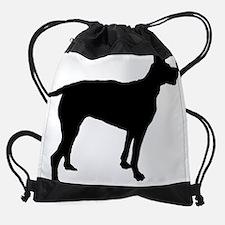 Cute Portuguese pointer Drawstring Bag